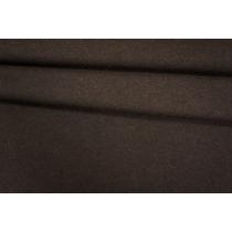 Трикотаж шерстяной темно-коричневый PRT 08121908