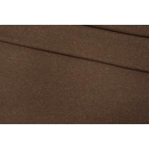 Трикотаж шерстяной коричневый в крапинку PRT 08121909