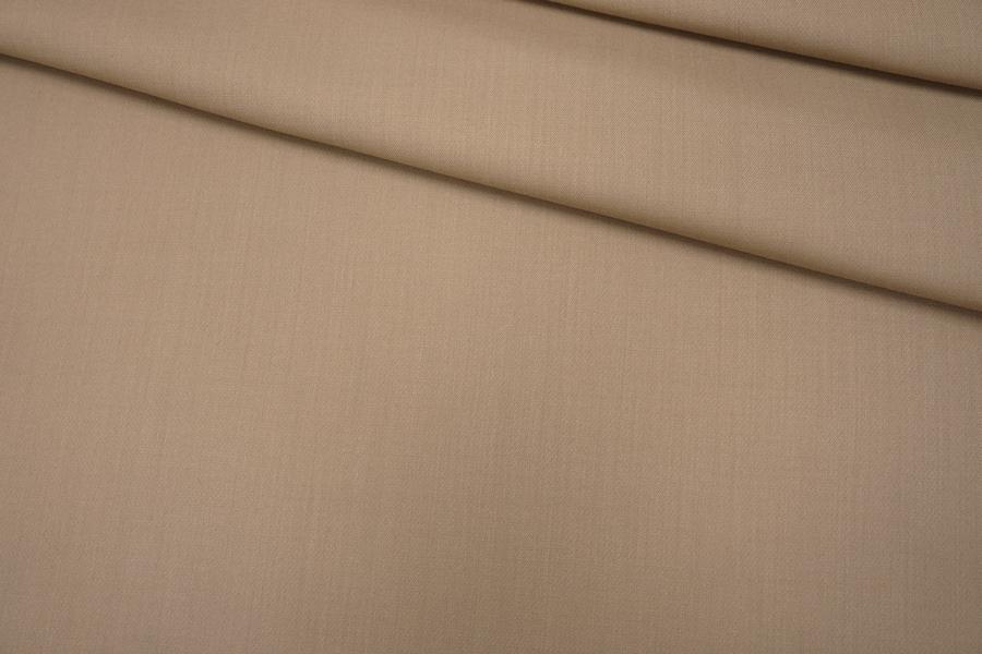 Костюмная шерсть приглушенный беж PRT-F2 08121916