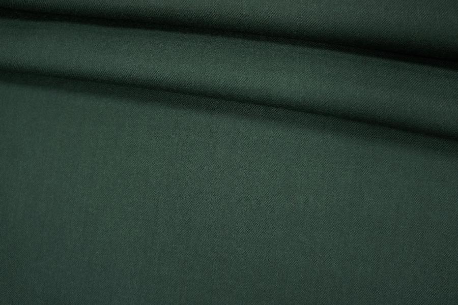 Костюмная шерсть темно-изумрудная PRT-G2 08121923