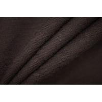 Джерси шерстяной темно-коричневый PRT 08121925