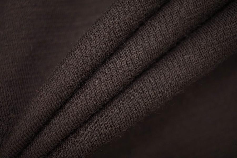 ОТРЕЗ 2,7 М Джерси шерстяной темно-коричневый PRT-(31)- 08121925-1