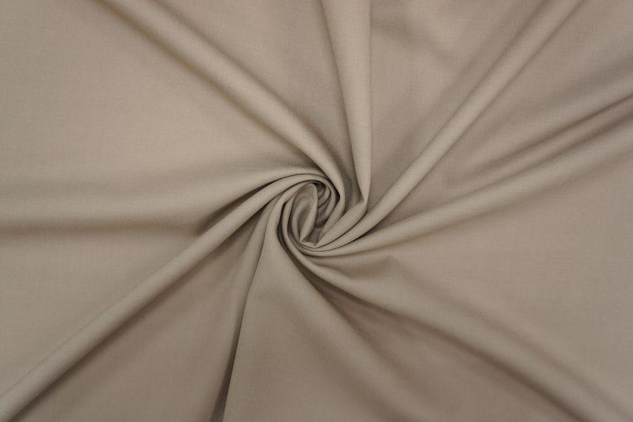 Плательная шерсть с шелком серо-бежевая PRT-H2 01091901