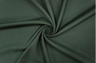 Плательная шерсть с шелком темно-зеленая PRT-Z4 01091916