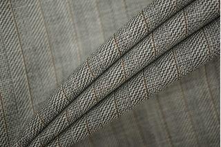 Плательная шерсть с шелком в полоску PRT-J4 01091920