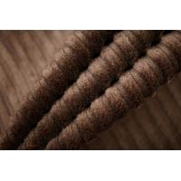 Вельвет хлопковый коричневый PRT-A3 06121901