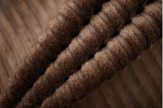 Вельвет хлопковый коричневый PRT 06121901