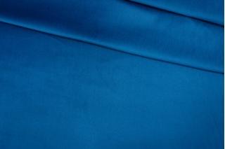 Велюр хлопковый синий PRT 06121902
