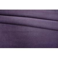 Вельвет хлопковый приглушенно-фиолетовый PRT-Х3 06121905