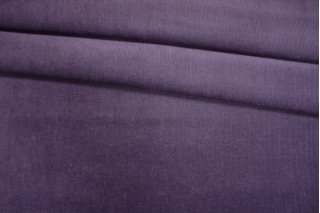 Вельвет хлопковый приглушенно-фиолетовый PRT 06121905