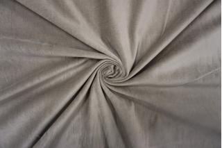 Велюр хлопковый серый PRT-А7 06121911