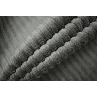 Вельвет хлопковый серый PRT-A7 06121912