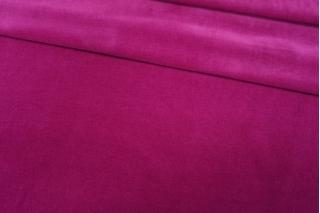 Велюр хлопковый малиновая фуксия PRT 06121914
