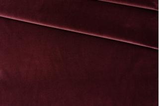Велюр хлопковый пьяная вишня PRT 06121915