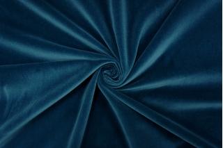 Велюр хлопковый темно-бирюзовый PRT-i1 06121916