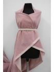 Велюр хлопковый нежно-розовый PRT-Х2 06121918