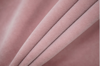 Велюр хлопковый нежно-розовый PRT-А7 06121918