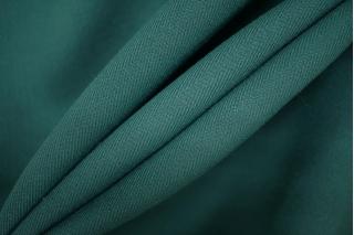 Шерсть костюмная двухслойная проклеенная изумрудная PRT-W7 10091910