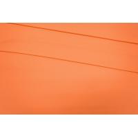 ОТРЕЗ 1,55 М Трикотаж вискозный креповый выбеленный оранжевый PRT-(57)- 25091903-1