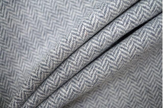 Твид елочка костюмный серо-белый PRT-W7 25091907