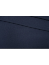 Трикотаж шерстяной темно-синий PRT-D4 05111917