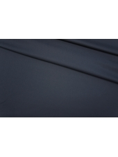 Шелк плательный темно-синий в елочку PRT-H2 12111910