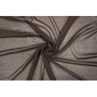 Шифон шелковый горький шоколад PRT-BB3 12111923