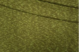 Трикотаж шерстяной коричнево-зеленый диагональ PRT-T4 30101901