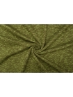 Трикотаж шерстяной коричнево-зеленый диагональ PRT-T3 30101901