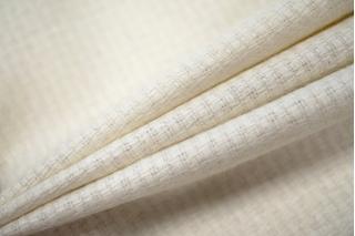 Костюмная рогожка молочного цвета PRT-G5 03091932