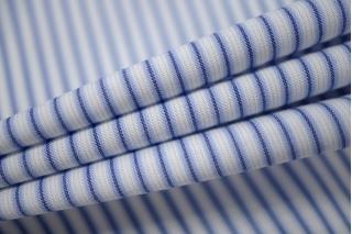 Поплин рубашечный в полоску PRT-B2 03091935