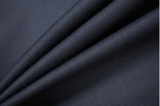 Плательная шерсть с шелком темно-синяя PRT 09091906