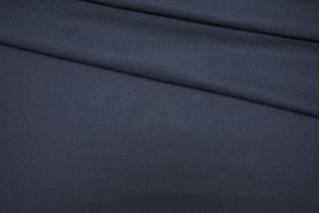 Трикотаж шерстяной плотный темно-синий PRT 01091936