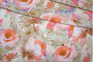 Трикотаж вискозный цветы PRT-D2 03091922
