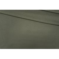 Пальтовый шерстяной велюр цвета хаки PRT 08091921