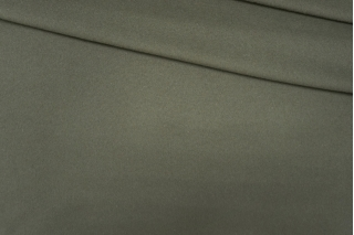 Пальтовый шерстяной велюр цвета хаки PRT-B2 08091921