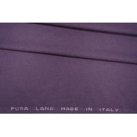 Костюмная фланель шерстяная фиолетовая PRT- G7 13081913