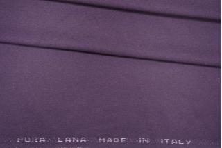 Костюмная фланель шерстяная фиолетовая PRT- E7 13081913
