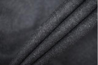 Твид темно-серый шерстяной PRT-G4  13081920