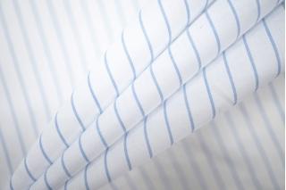 Поплин рубашечный в полоску PRT-F5 15101902