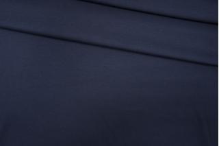 Джерси тонкий вискозный темно-синий PRT-D7 15101906