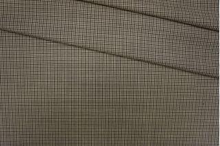 Плательная шерсть в клетку коричневая PRT-E7 01091905