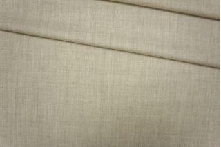 Костюмно-плательная фланель шерстяная светлая серо-молочная PRT-E7 01091919