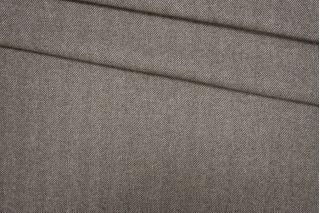 Твид елочка бело-коричневая PRT-E5 09081915