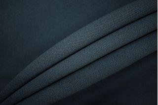 Креп вискозный темный серо-синий PRT-H6 12081930