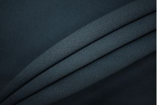 Креп вискозный темный зеленовато-синий PRT-W3 12081930