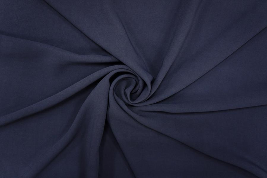 ОТРЕЗ 2,2 М Кади вискоза темно-синяя PRT-(35)-12081931-2