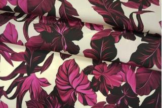 Поплин рубашечный цветочный PRT 10121902