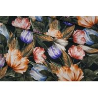 Поплин рубашечный цветочный PRT-F5 10121904