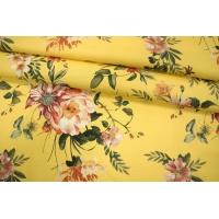 ОТРЕЗ 2,3 М Поплин рубашечный цветочный PRT 10121905-1